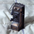 DURHAM Miniature Dollhouse Metal Furniture Number 27 Wall Phone