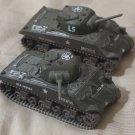 CORGI 2 M4 Sherman Spiteful Tank Circa 2002 No Box Used