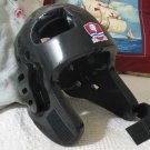 RHEE MAX Martial Arts Black Sparring Helmet Adult Large