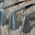J C Higgins 3 Steel Shaft Golf Clubs 2 5 9 Irons Vintage