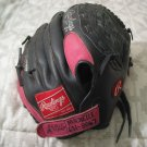 RAWLINGS FP22SB Pink Kid Baseball Glove 12 Inch Used