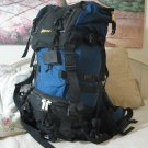 OUTBOUND Internal Frame Blue Black Backpack Camping Used