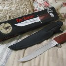 FROST CUTLERY Deer Hunter Knife w Sheath Unused