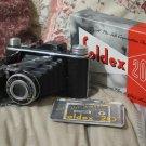 Foldex 20 Folding Camera By Pho Tak Co In Box Pamplet
