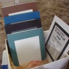 PHOTO FRAME MATS 20 Acid Free 8 X 10 Picture Framing Frame