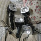 SYLVANIA Sun Gun SG 55 Movie Camera Light Lamp 3 Units