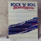 ROCK ROLL SHOWSTOPPER Music Song Book Sheet Music 90 Song