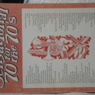 MUSIC SONG BOOK 70 for the 70s Rock Roll 1974 Piano