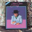 ELTON JOHN Anthology Music Songbook Sheet Music Used
