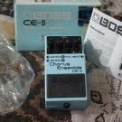 BOSS CE 5 Chorus Ensemble Guitar Effects Pedal Unused