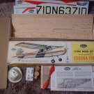 GUILLOWS Balsa Wood Cessna 170 Model Kit 1960s No 302