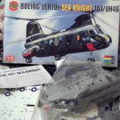 BOEING Vertol Sea Knight 107 UH46 Navy Helicopter Model Kit 03051 Airfix 1/72