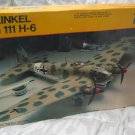 HEINKEL He 111 H-6 German Military Airplane Model Kit Testors 1/72