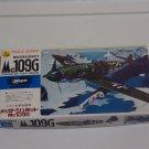 MESSERSCHMITT ME 109 G German Military Airplane Model Kit Hasegawa 1/72