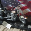 FRANKLIN MINT Harley Davidson Heritage 1 10 Scale Model Broken