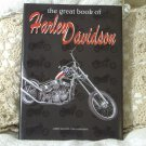 THE GREAT BOOK OF HARLEY DAVIDSON Motorcycle 2005