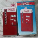 COCA COLA Vending Metal Machine Bank Coke Unused 1995