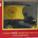 COCA COLA Coke Delivery Truck Analog Alarm Clock 1996