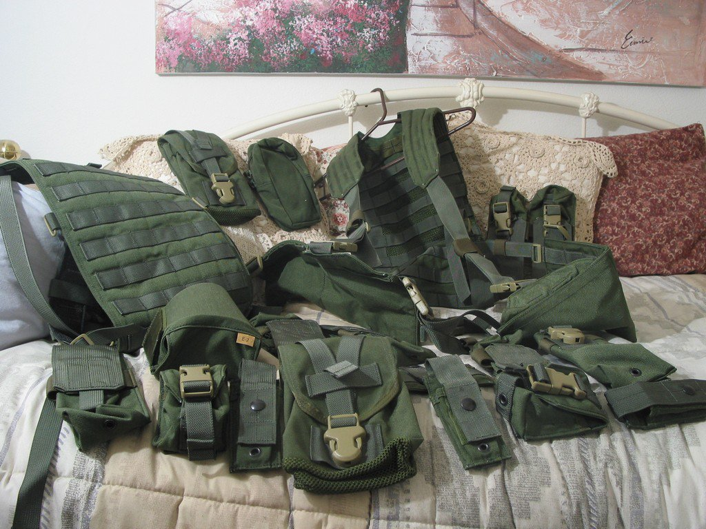 MILITARY RIFLEMANS KIT Air Force Carriage System Backpack Unused