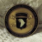 101st AIRBORNE Commanders Recognition Coin Award