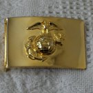USMC Brass Plated Military Belt Buckle
