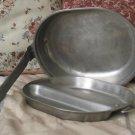 US WYOTT Aluminum Mess Kit Pans Vietnam Era