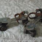 ROLLER SKATES Union Hardware No 5 Metal Wheels Antique