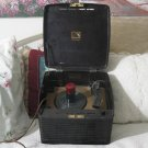 RCA VICTOR Brown Bakelite 45 RPM Record Player Has Hum