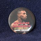 MIKE TYSON Vs MATHIS MGM GRAND Boxing Button Pin 1995