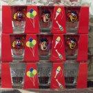 CIRCUS CIRCUS 9 Clown Shot Glasses 3 Sets Unused