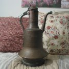 COPPER WATER KETTLE Kitchen Hearth Cooking Antique
