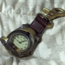 COLEMAN Quartz Fob Pocket Dial Watch Used
