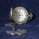 MADISON Eagle Theme Silver Tone Pocket Watch Used