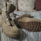 BELLEVILLE Suede Leather Military Beige Boots 9.5