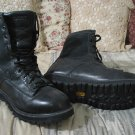 ROCKY 2080 Black Leather Lace Up Boots Sz 10.5 Used