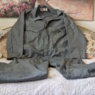 DICKIES Grey Overalls Coveralls Size 46 Medium Used