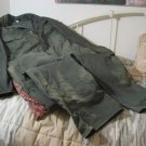 OUR BEST Dark Green Coveralls Overalls Size 46 Reg Used