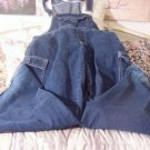 WATCH LA Blue Denim Farmers Overalls Coveralls Used