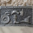 FIREFIGHTERS Belt Buckle 3 x 2 Used