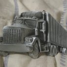 BIG RIG TRUCK Tractor Trailer Belt Buckle 1980 Damaged