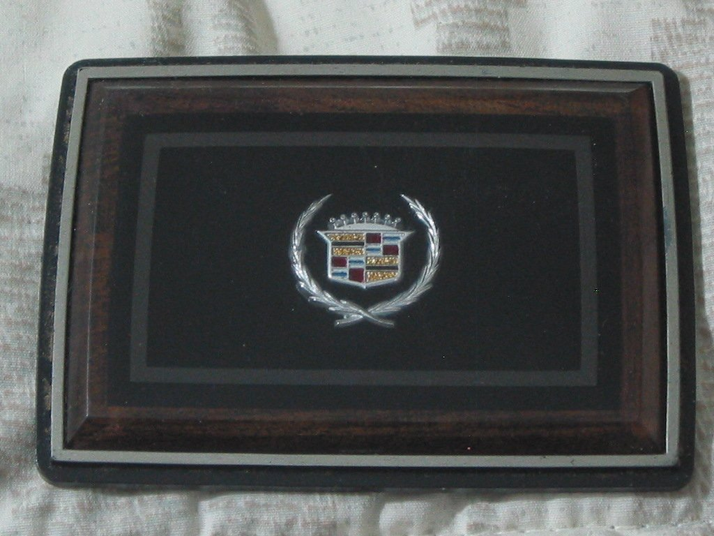 CADILLAC Square Belt Buckle Logo Original Car Emblem