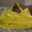 YELLOW Large Storage Hand Tote Beach Bag Unused