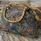 SIGNATURE CLUB A Large Shoulder Hand Jungle Bag Used