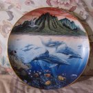 HAWAIIAN MUSES COLLECTORS PLATE Danbury Dolphin 1991