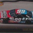 JEFF BURTON Exide Race Car 1996 Pinnacle Pole Position Nascar Trading Card No 49
