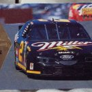RUSTY WALLACE 1996 Pinnacle Miller Race Car Nascar Trading Card No 37