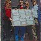JEFF GORDON 1996 Racers Choice Nascar Subset Trading Card No 55
