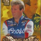 STERLING MARLIN 1998 Press Pass VIP Nascar Trading Card No 15