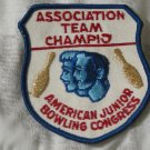 ABC Junior Bowling Congress Patch Unknown Season Champ