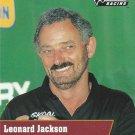 Leonard Jackson Nascar Pro Set 1991 Card #123